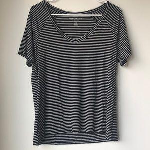 American Eagle Striped T-Shirt